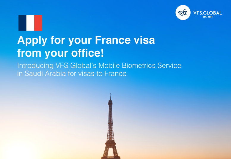 Apply for your France visa from your office - La France en
